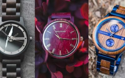 Uhren aus Holz