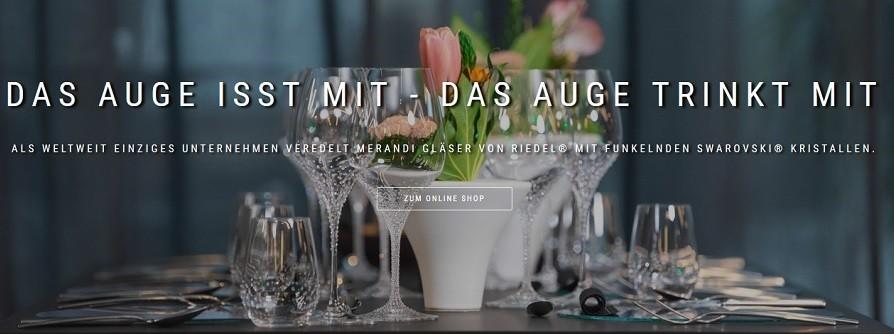 Edle Weingläser – Weingläser mit Kristallen