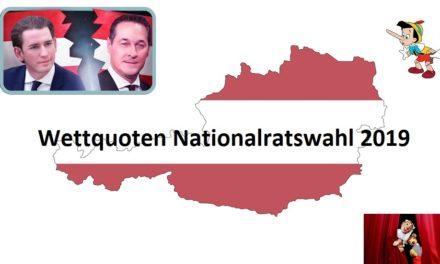 Wettquoten Nationalratswahl 2019