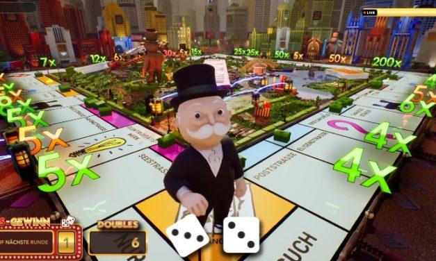 Monopoly spielen im Internet