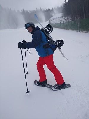 Schneeschuhtour in Oberösterreich